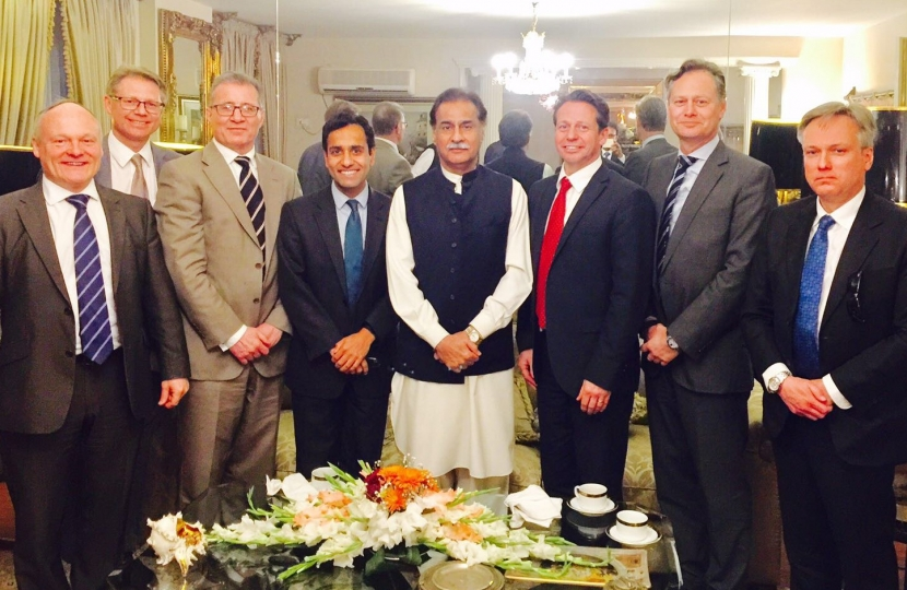 MPs with Speaker of Pakistan Parl