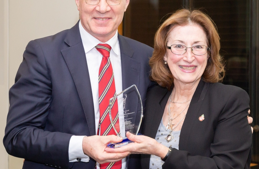Mark Pawsey MP receives Long Service award