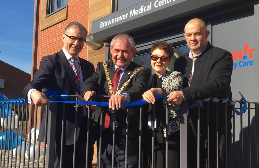 Brownsover Medical Centre Opening