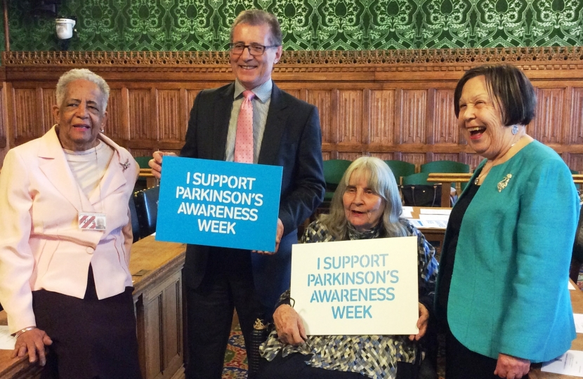 Mark Pawsey, Parkinson's Awareness Week