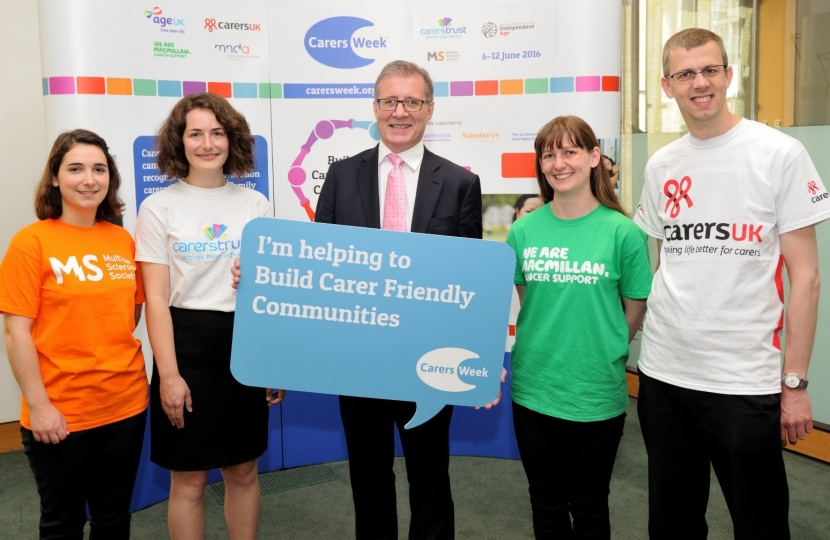 Mark Pawsey MP, Annual Carers Week 2016