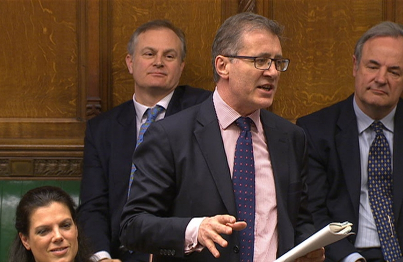 Mark Pawsey in Parliament