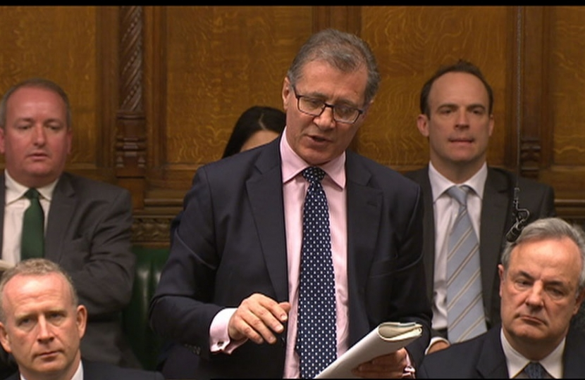 Mar Pawsey speaking in House of Commons